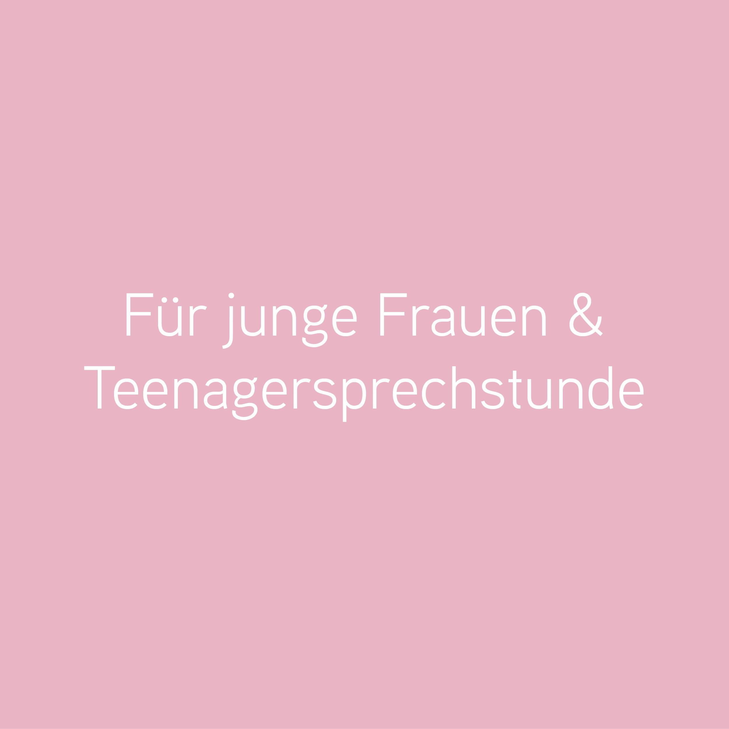 Teenagersprechstunde