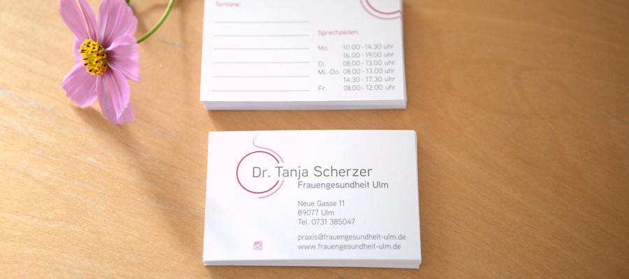 Dr. Tanja Scherzer in Ulm, Söflingen, Praxis